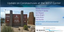 Coronaviruses at the WEST Center